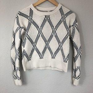 Banana Republic Factory Knit Cropped Sweater sz XS